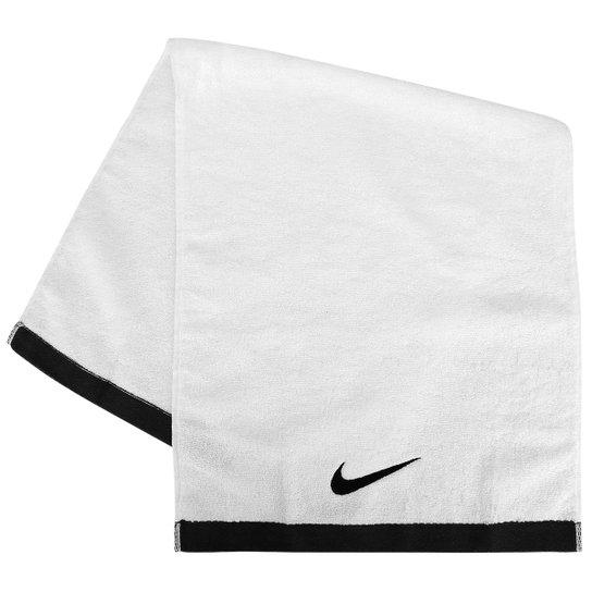 Toalha Nike Fundamental Towel Medium Branca/Preta