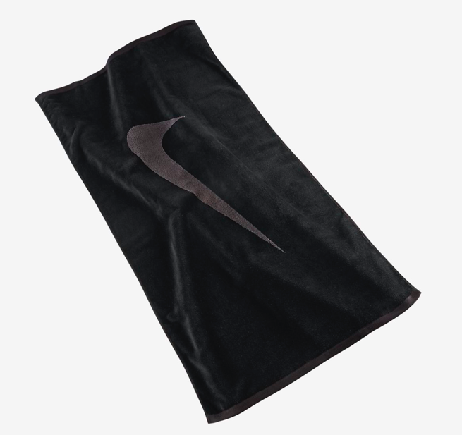 Toalha Nike Sport Towel Medium Preto/Cinza