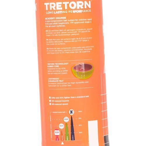 Tubo de Bola de Tênis Tretorn Academy Stage 2