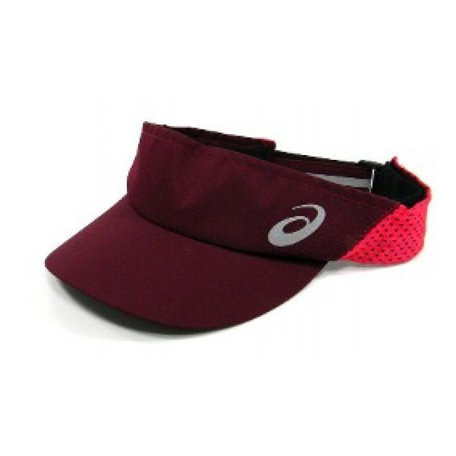 Viseira Asics Mad Dash Visor - Chili Flake