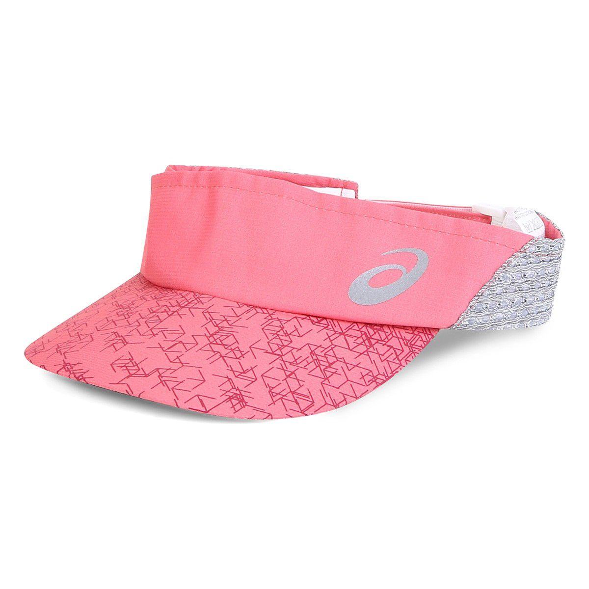 Viseira Asics Mad Mesh Visor - Bright Rose