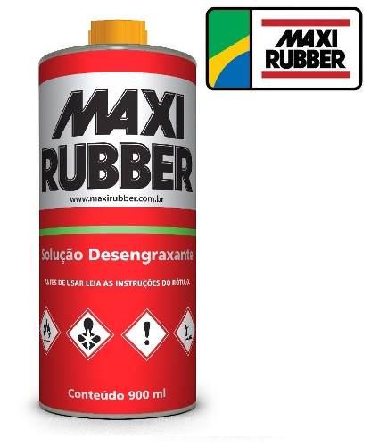 Solução Desengraxante Maxi Rubber 900 Ml 7mp007