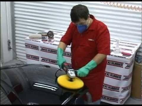 Massa Polir Maxi Corte Base Água 1kg Automotivo Maxi Rubber