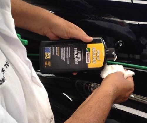 Líquido Finalizador Maxi Brilho Remove Riscos Automotivo