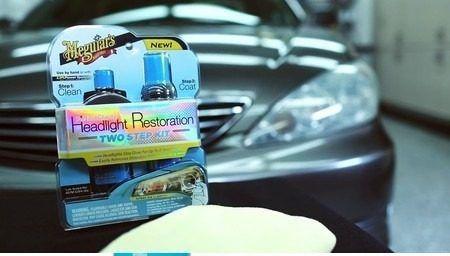 Restaurador De Faróis Meguiars Kit Perfect Clarity G2000 115