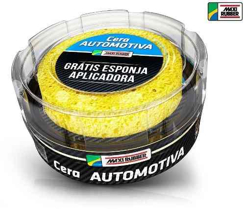 Cera Automotiva Profissional Maxi Rubber 200g 6mp020