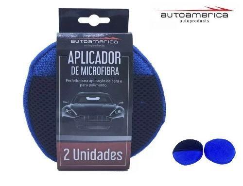 Aplicador De Microfibra Com 02 Unidades Autoamerica
