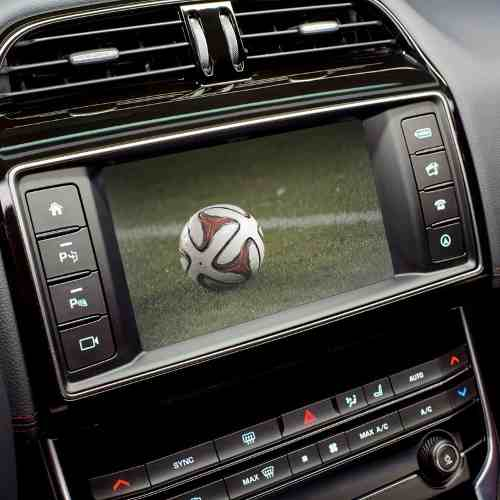 "Interface Evoque Land Rover Jaguar Desbloqueio tela de 8"""