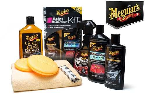 Kit Restaurador Pintura Meguiar's G3300 Gold Compound Quik
