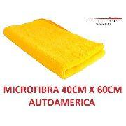 Flanela Toalha Microfibra 40 X 60 Cm Autoamerica (sem embalagem / blister)