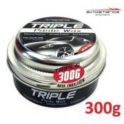24 Cera De Carnaúba Triple Paste Wax Autoamerica 300g