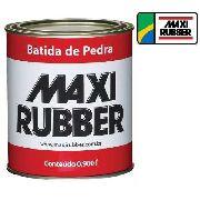 Batida De Pedra Branco 900ml Tinta Emborrachamen Maxi Rubber