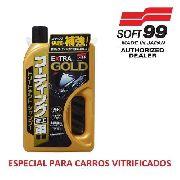 Shampoo Para Carros Vitrificados Gold Extra Soft99 750ml