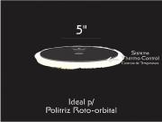 "Boina Lã Hibrida Thermo Control 5"" Roto Orbital Nobre Car"