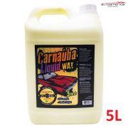 Cera Carnaúba Líquid Wax líquida Autoamerica 5L rendimento