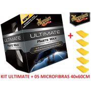 Cera Meguiars Ultimate Wax Pasta G18211 + 05 Microfibra 40x60CM Autoamerica