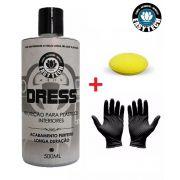 Dress Revitalizador plásticos + aplic. + par luvas EasyTech