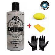 Dress Revitalizador plásticos + aplic. + par luvas + Microfibra EasyTech