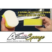 Esponja Amarela aplicador Cera Authentic Premium Soft99