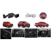 Interface de vídeo Fiat Jeep Compass / Renegade / Toro c/ 01 A.V.