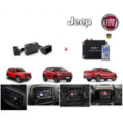 Interface de vídeo Fiat Jeep Compass / Renegade / Toro + TV HD