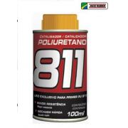 Kit 04 Primer Pu Hs Cinza 811 900ml Maxi Rubber C/ Catalisador