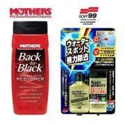 Kit 1 Back To Black Mothers + 1 Glass Refresh Soft99