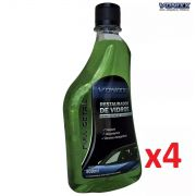 Kit c/ 04 Restaurador Vidros 500ml Vonixx Chuva Ácida Removedor Limpa