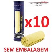 Kit c/ 10 Flanela Secagem Autoamerica Tech Dry Plus (70x40cm) Sem Emb.