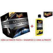 Kit Cera Ultimate Meguiars + 1 Shampoo Ultimate Meguiars