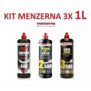 Kit Menzerna C/ Pf2500 Sf3500 Fg400 S Finish Compound 1l