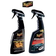 Kit Natural Shine G4116 + Rich Leather G10916 Meguiars