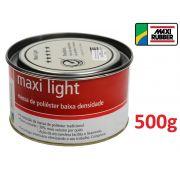 Massa De Poliester Light 500 Grs Maxi Rubber 1mg026