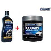 REJUVEX 400g Revitalizador + PNEU PRETINHO 500ML Vonixx