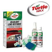 Restaurador Faróis Lanterna Automotiva Turtle Wax Headlight Lens Restorer