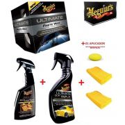 Ultimate pasta + Ultiamte Quick Wax + Rich Leather + 02 microfibras