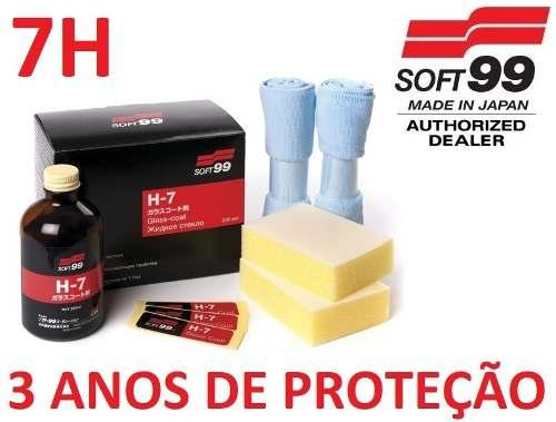 Vitrificador Pinturas H7 Coating Glass Coat 200ml Soft99 7h