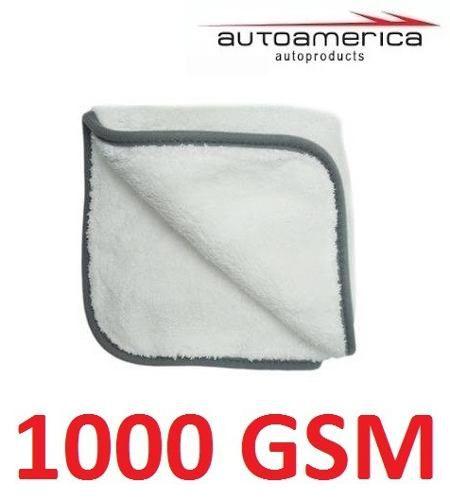 Flanela Toalha Pano Microfibra 1000 Gsm 40x40 Cm Autoamerica