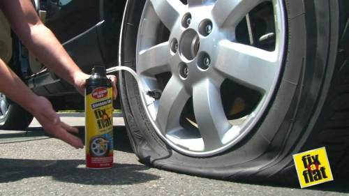 Reparador De Pneu Instantaneo Fix A Flat Standard Tire 453g