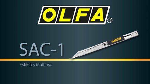 Estilete Olfa Sac-1 / 141b 9mm 30º Graus Insulfilm Envelopamento