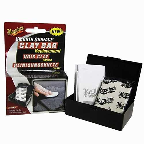 Massa Clay Bar Meguiars Descontaminante 80g Smooth Surface