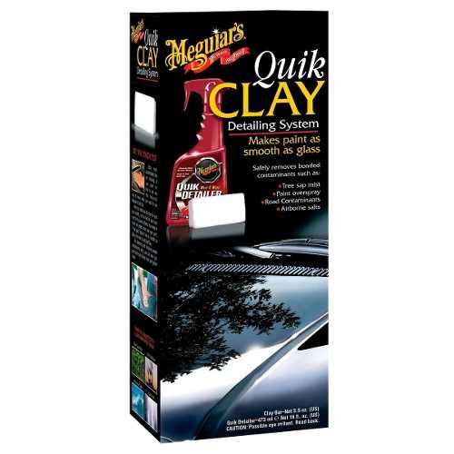 Kit Meguiars Quik Clay Bar Pasta E Tok Final G1116 Quick