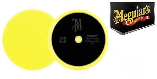 Boina De Espuma Macia 7 Amarela Wrfp7 Meguiars