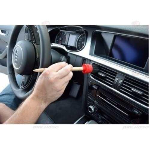 Kit De Pincéis Para Detalhamento Automotivo Autoamerica Deta