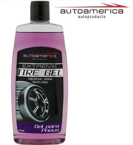Pretinho Gel Para Pneus Extreme Tire Gel Autoamerica 473ml