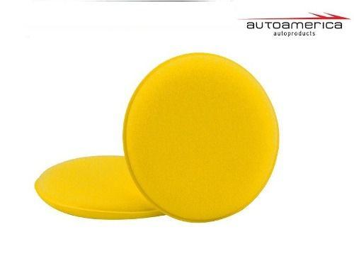 Espuma Amarela Aplicador De Cera C/ 02 Unidades Autoamerica