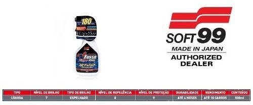 Selante P/ Manutenção Fusso Coat Speed Barrier Spray Soft99
