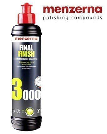 Menzerna Ff3000 Final Finish Super Lustrador Polimento 250ml