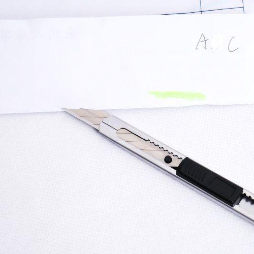 Estilete Profissional Aço Inox 30º Graus 9mm Envelopa+lâmina