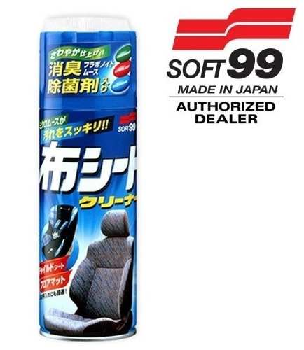 Limpa Tecido Seat Cleaner Micro Mousse Soft99 420ml